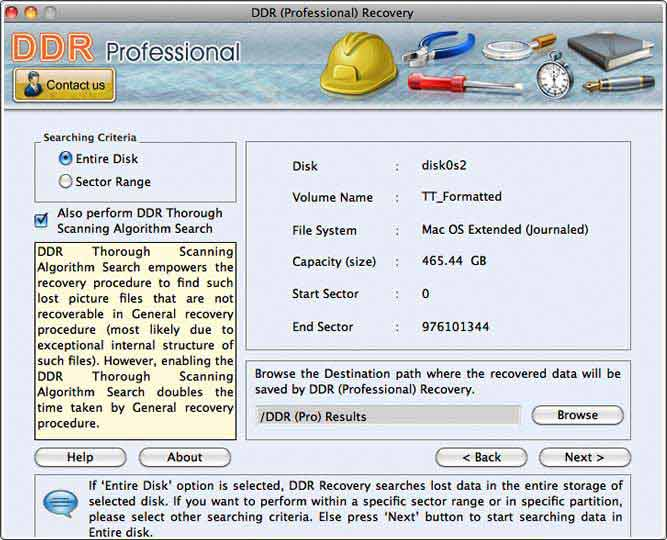 Program restores missing audio video files